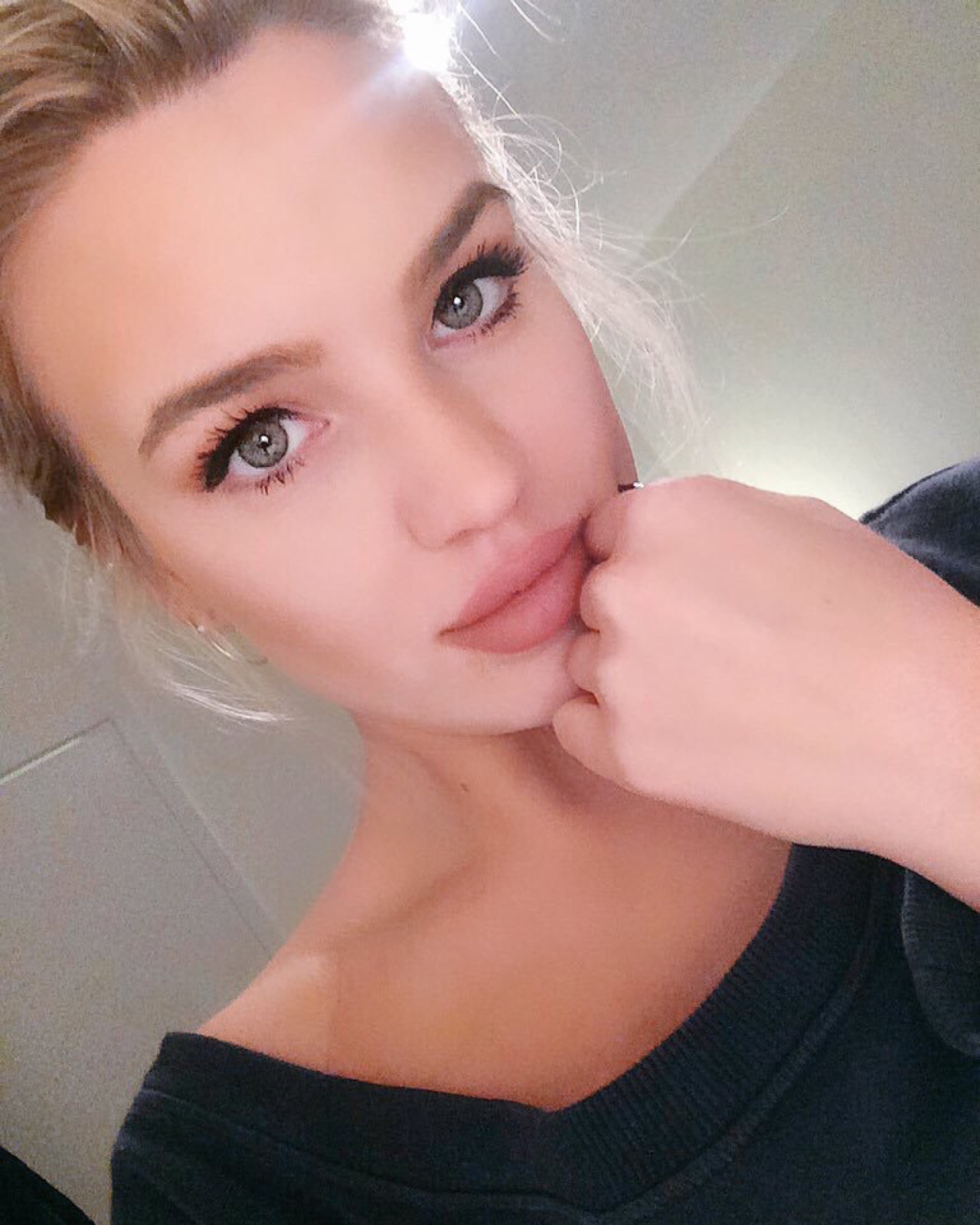 selfie sexy de fille du 40